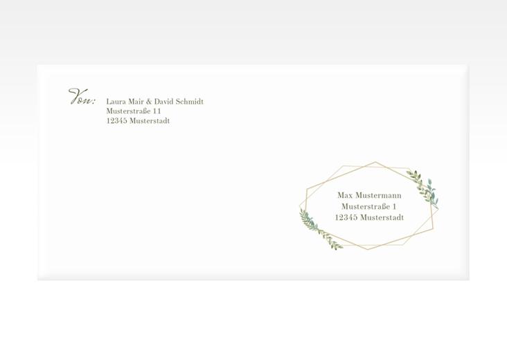 """Kuvert DIN lang """"Herbarium"""" DIN lang"""