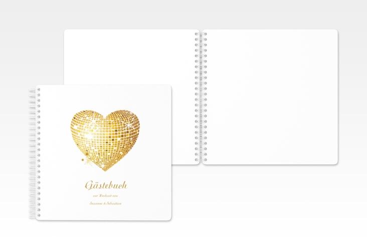 "Gästebuch Hochzeit ""Rimini"" Ringbindung"