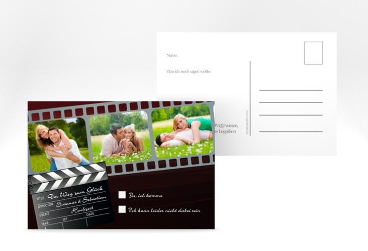 """Antwortkarte Hochzeit """"Bottrop"""" A6 Postkarte"""