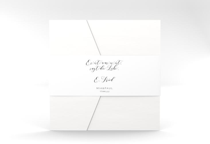 """Hochzeitseinladung """"Paperlove"""" Pocketfold"""