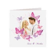 """Hochzeitseinladung """"Schmetterlinge"""""""