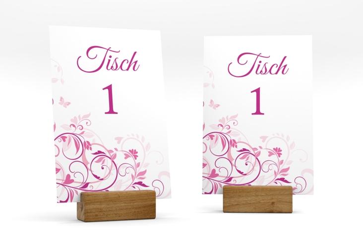 """Tischnummer Hochzeit """"Lilly"""" Tischaufsteller"""