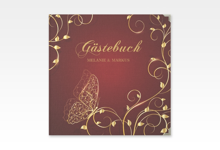 """Gästebuch Selection Hochzeit """"Eternity"""" Leinen-Hardcover"""