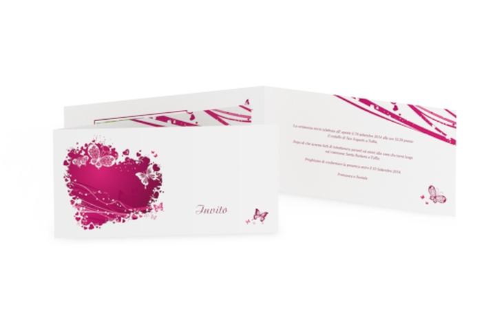 Inviti matrimonio collezione Milano DIN lang Klappkarte