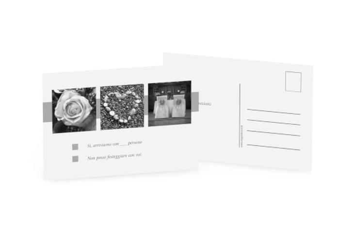 Biglietti risposta matrimonio collezione Marseille A6 Postkarte