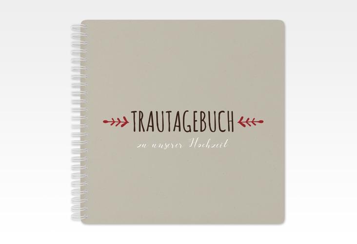 """Trautagebuch Hochzeit """"Eden"""" Trautagebuch Hochzeit rot"""