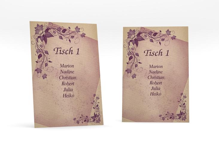 """Tischaufsteller Hochzeit """"Erfurt"""" Tischaufsteller"""