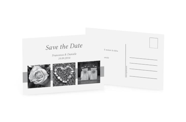 Biglietti Save the Date collezione Marseille A6 Postkarte