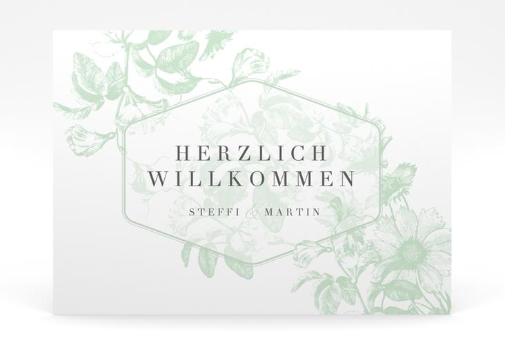 """Willkommensschild Poster """"Magnificent"""" 70 x 50 cm Poster mint"""