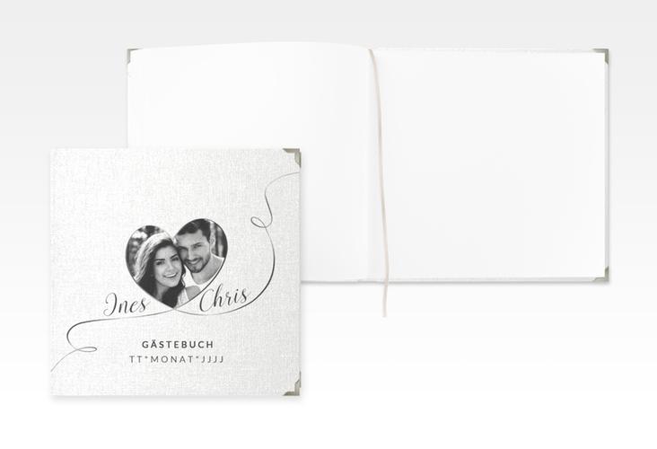 """Gästebuch Selection Hochzeit """"Dolce"""" Leinen-Hardcover"""