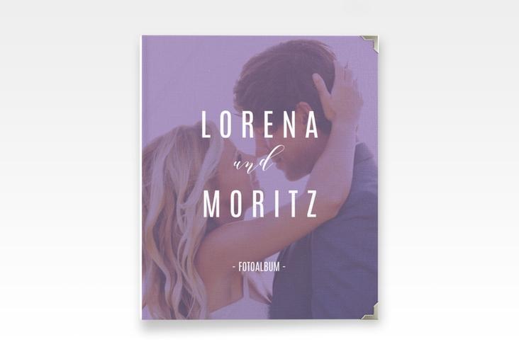 "Hochzeitsalbum ""Memory"" 21 x 25 cm lila"