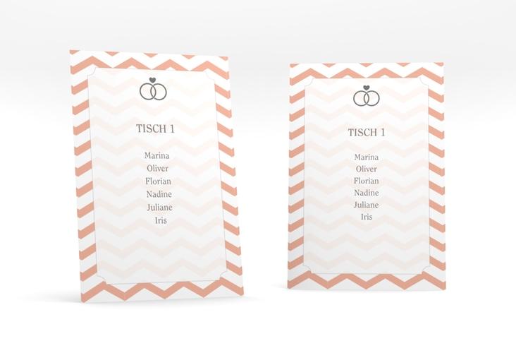"""Tischaufsteller Hochzeit """"Avery"""" Tischaufsteller"""