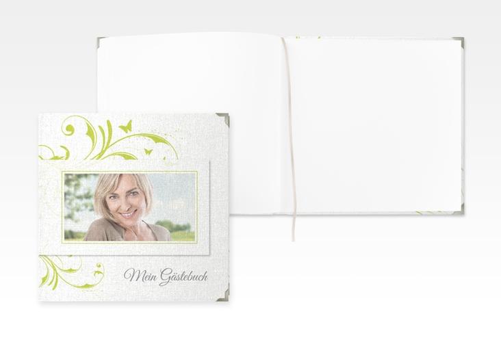 "Gästebuch Selection Geburtstag ""Papillon"" Leinen-Hardcover"