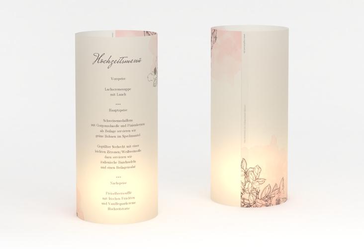 """Windlicht Menü Hochzeit """"Artlover"""" Windlicht"""
