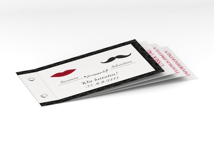 """Hochzeitseinladung """"Montpellier"""" Booklet"""