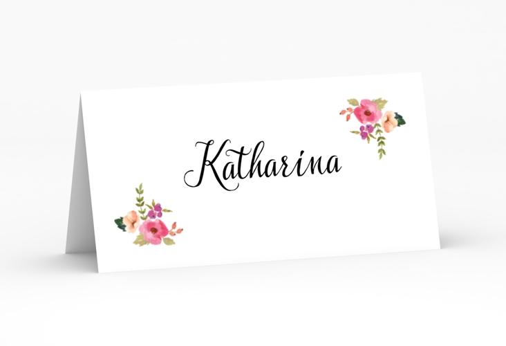 """Tischkarte Hochzeit """"Fiore"""" Tischkarten"""