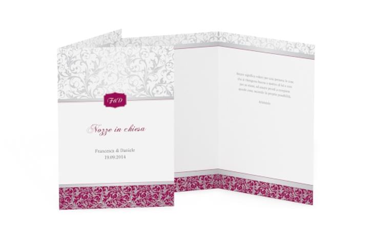 Libro messa matrimonio collezione Latina DIN A5 geklappt fucsia