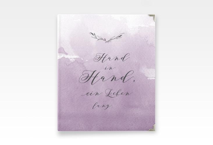 """Hochzeitsalbum """"Divine"""" 21 x 25 cm flieder"""