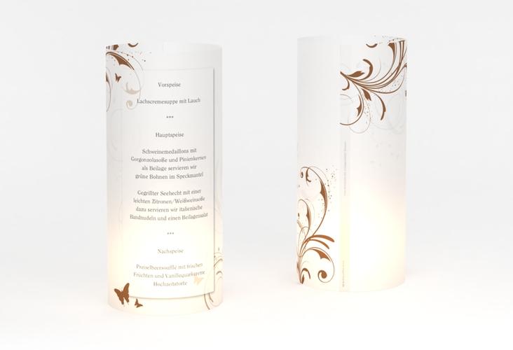"""Windlicht Menü Hochzeit """"Palma"""" Windlicht"""