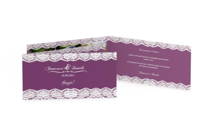 Ringraziamenti matrimonio collezione Montreux DIN lang Klappkarte