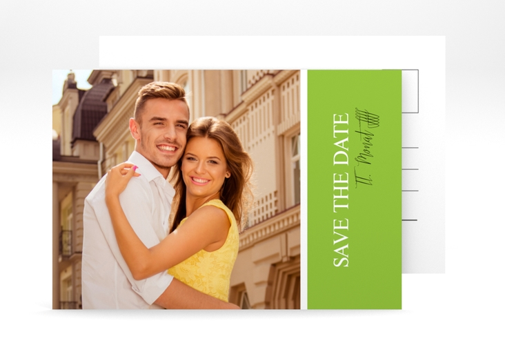 "Save the Date-Postkarte ""Classic"" A6 Postkarte"