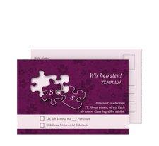"""Antwortkarte Hochzeit """"Ravensburg"""""""
