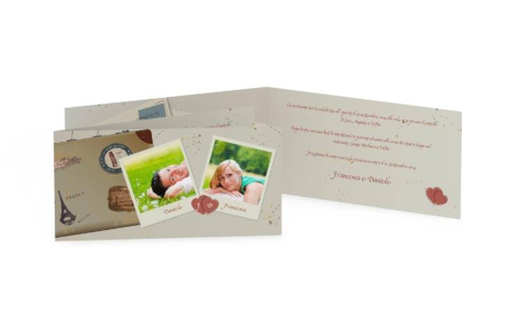 Inviti matrimonio collezione Catania DIN lang Klappkarte