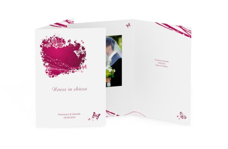 Libro messa matrimonio collezione Milano DIN A5 geklappt