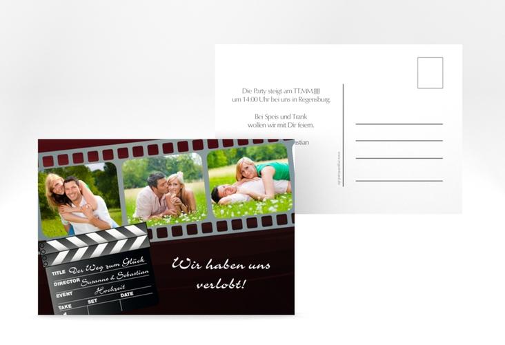"""Verlobungskarte Hochzeit """"Bottrop"""" A6 Postkarte"""
