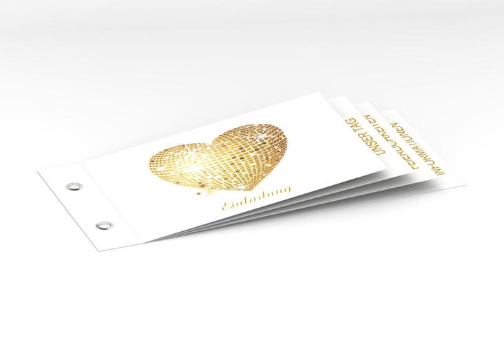 """Hochzeitseinladung """"Rimini"""" Booklet"""