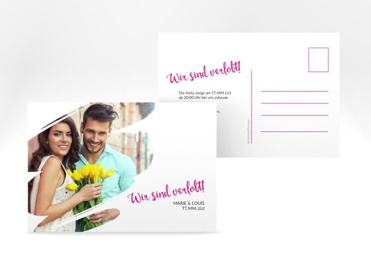 """Verlobungskarte """"Felice"""" A6 Postkarte"""