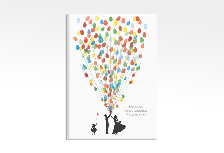 Wedding Tree – Ballons Beatrice Girl bis zu 200 Gäste 50x70 cm 50 x 70 cm