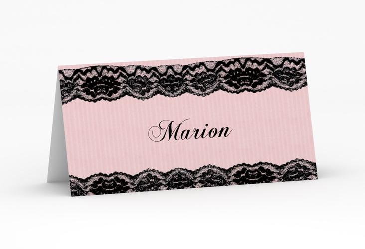 """Tischkarte Hochzeit """"Montreux"""" Tischkarten rosa"""