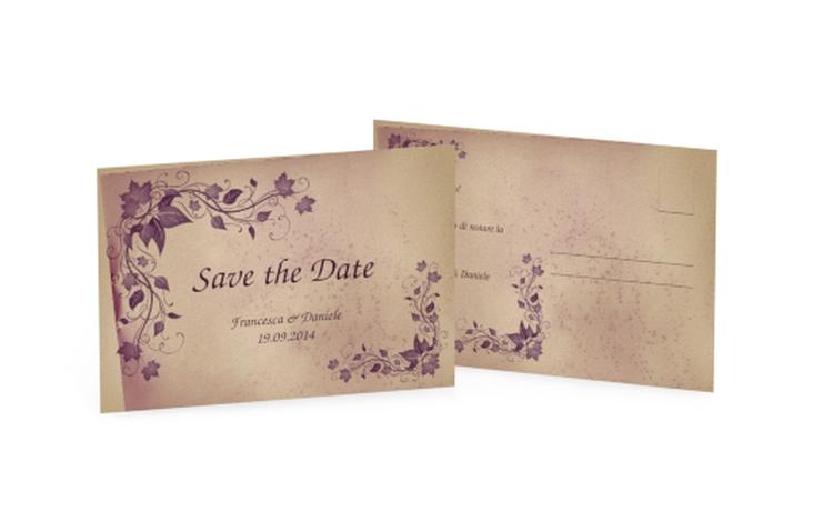 Biglietti Save the Date collezione Como A6 Postkarte