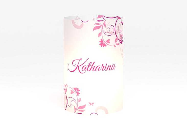 """Windlicht Hochzeit """"Lilly"""" Windlicht pink"""
