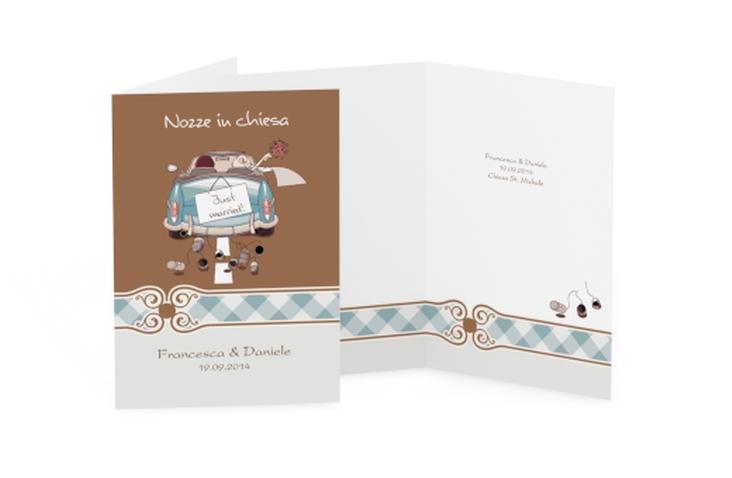 Libro messa matrimonio collezione Stoccarda DIN A5 geklappt