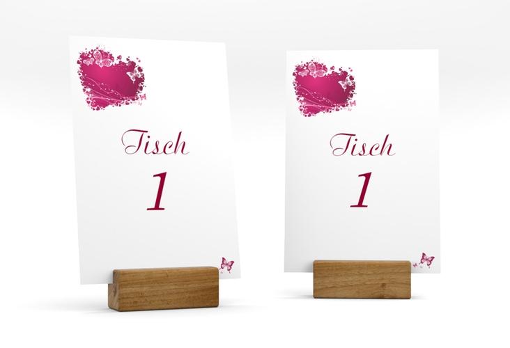 """Tischnummer Hochzeit """"Mailand"""" Tischaufsteller"""