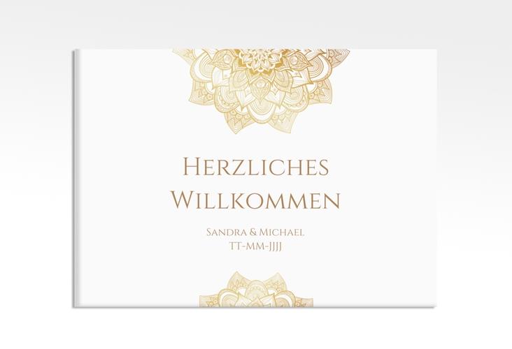 """Willkommensschild Hochzeit """"Delight"""" 70 x 50 cm Leinwand"""