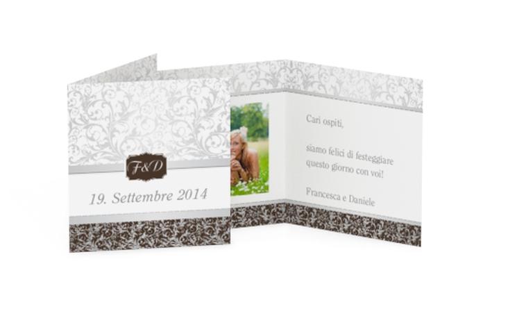 Biglietti Bomboniera matrimonio collezione Latina Geschenkanhänger 10er Set