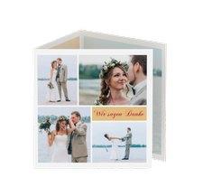 """Danksagungskarte Hochzeit """"Collage"""""""