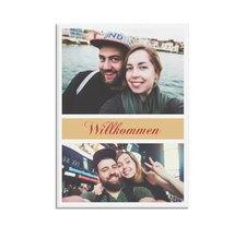 """Willkommensschild Hochzeit """"Collage"""""""