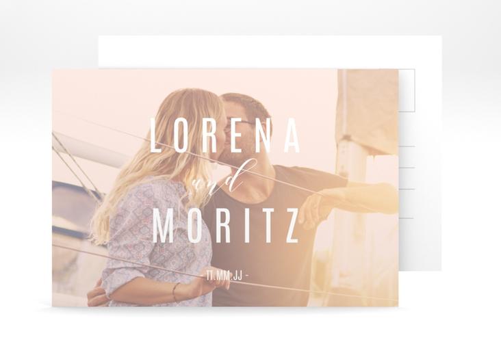 """Verlobungskarte Hochzeit """"Memory"""" A6 Postkarte"""
