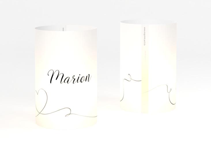 """Windlicht Hochzeit """"Dolce"""" Windlicht weiss"""