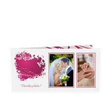 """Danksagungskarte Hochzeit """"Mailand"""""""