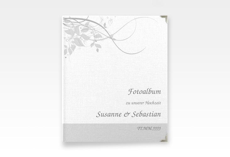 """Hochzeitsalbum """"Florenz"""" 21 x 25 cm grau"""