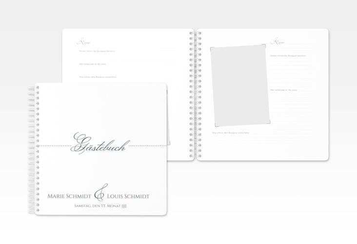 "Gästebuch Hochzeit ""Pure"" Ringbindung"