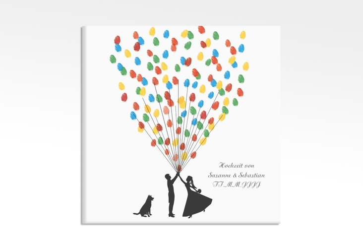 Wedding Tree – Ballons Beatrice Dog bis zu 40 Gäste 30x30 cm 30 x 30 cm