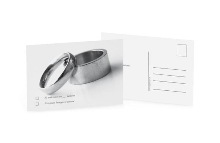 Biglietti risposta matrimonio collezione Siviglia A6 Postkarte