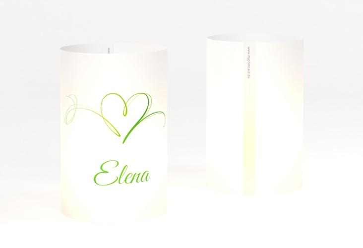 """Windlicht Hochzeit """"Envie"""" Windlicht gruen"""