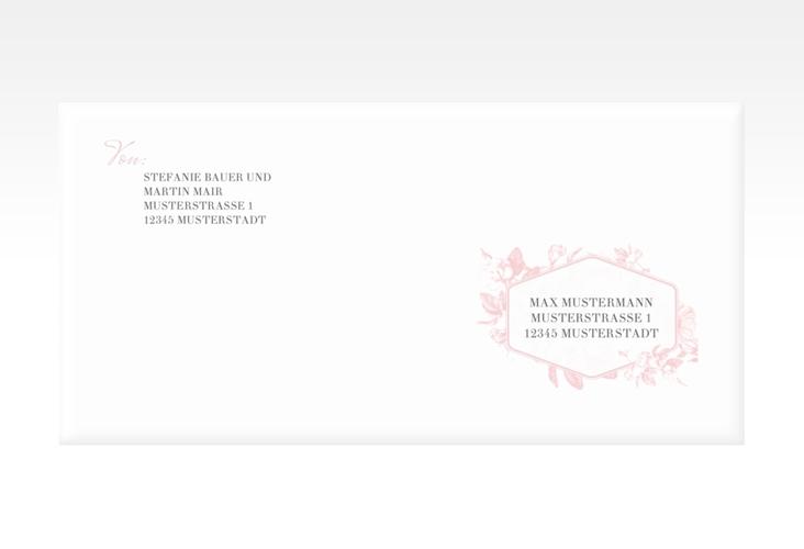"Kuvert DIN lang ""Magnificent"" DIN lang rosa"